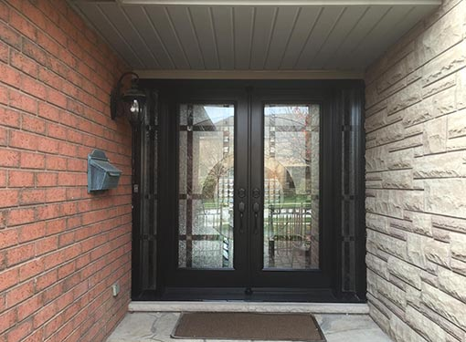 Custom-door-installation